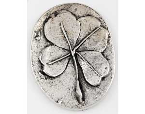 Clover pocket stone