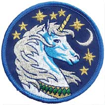 "3"" Unicorn patch"