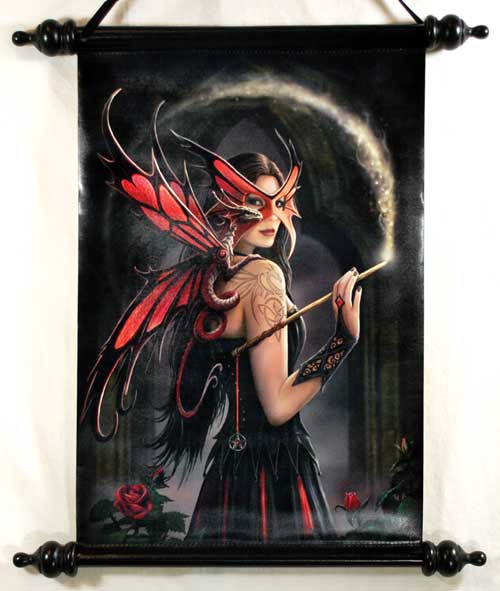 Anne Stokes Spellbound Wall Scroll