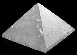 Small Quartz Crystal Pyramid 30-40mm