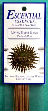 Mayan Temple Essential Essences Incense Sticks