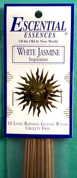 White Jasmine Escential Essences Incense Sticks