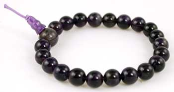 Amethyst power bracelet