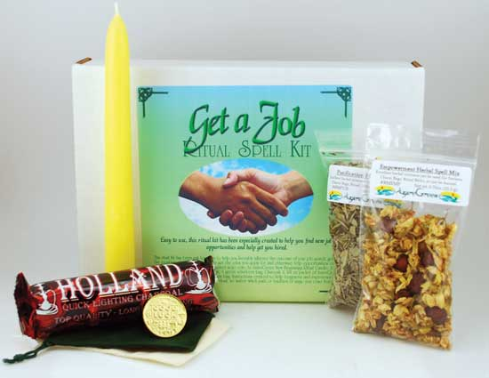 Get A Job Boxed ritual kit