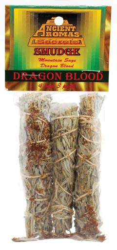 Dragon`s Blood Smudge Stick 3-Pack