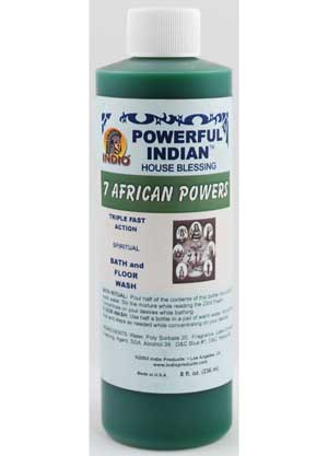 7 African Powers wash 8oz
