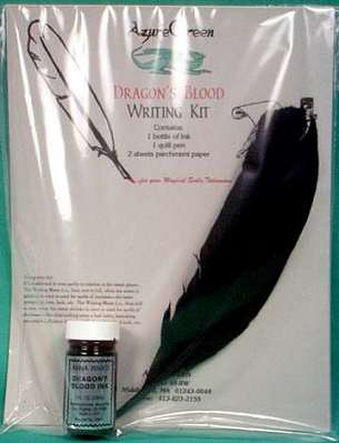 Dragon`s Blood Writing Kit